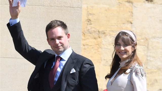 Patrick J. Adams & Troian Bellisario Welcome First Child