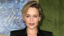 "Emilia Clarke Rocked The ""No Shirt"" Look"