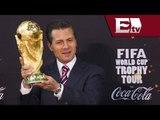 La Copa del Mundo llega a los Pinos ; Enrique Peña Nieto confía en el TRI / Adrenalina