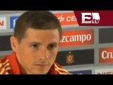 Fernando Torres considera que hay mucha presión para España en el Mundial/  Gerardo Ruiz