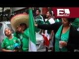 Sufren mexicanos en Río de Janeiro para seguir el duelo contra Croacia/ Viva Brasil