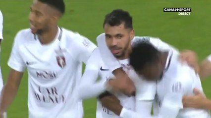 Superbe but de Farid Boulaya face à Sochaux