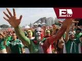El partido Holanda vs México en el Fan Fest de Río de Janeiro/ Viva Brasil