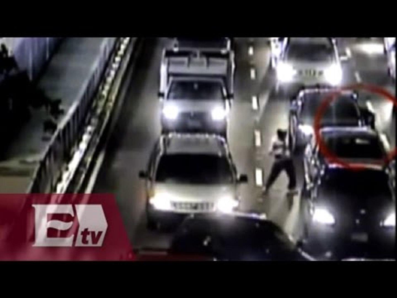 VIDEO: Cae banda de asaltantes de automovilistas en la Ciudad de México / Vianey Esquinca