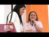 Campaña para prevenir el cáncer de mama entre boxeadoras/ Rigoberto Plascencia