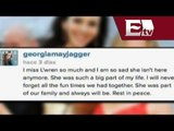 Hija de Mick Jagger escribe emotivo mensaje a L'Wren Scott / Joanna Vegabiestro