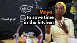 Mali: Maya, to save time in the kitchen