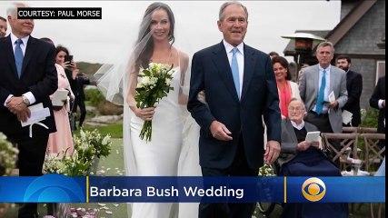 Barbara Bush, former first daughter, weds Craig Coyne in Vera Wang - TrendingTODAYvideos