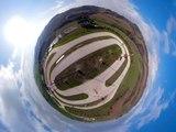 """100 km dei campioni"" at the MotoRanchRossi-Marini team Yamaha Factory  by GoPro #GoProFusion"