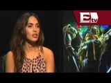 Megan Fox promociona en México la película Las Tortugas Ninja/ Adrián Ruiz