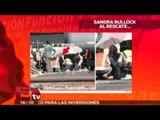 Sandra Bullock al rescate /  Sandra Bullock rescata a una persona