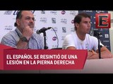 Abierto Mexicano de Tenis se queda sin Rafael Nadal