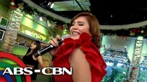 "UKG: Vina Morales sings ""Eres Mio"""