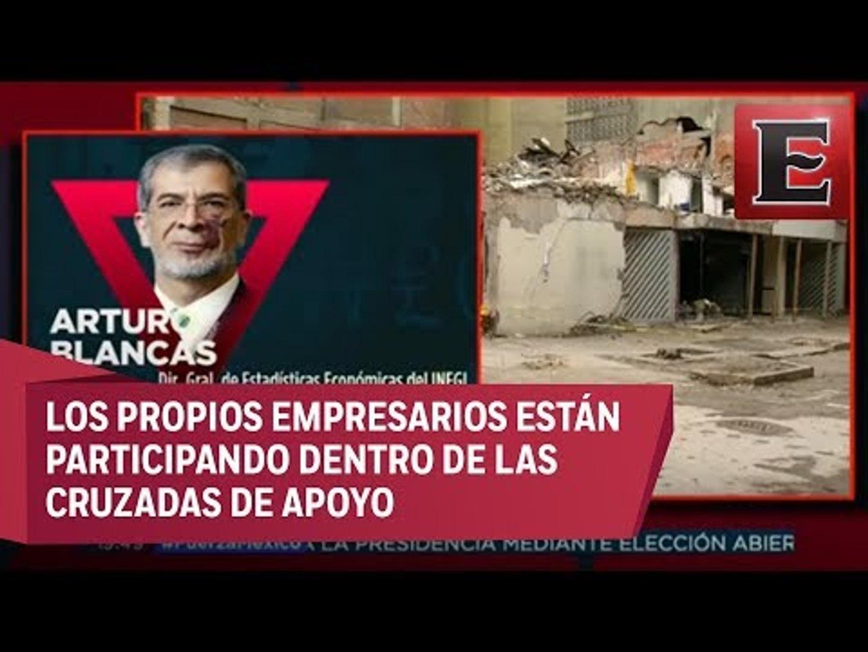 Arturo Blancas habla sobre las afectaciones laborales por los sismos