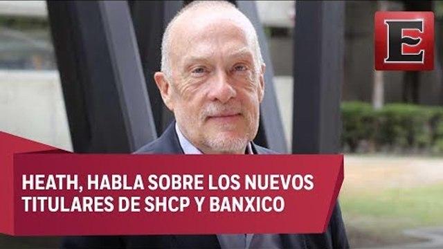 Hacienda esta en buenas manos con González Anaya: Jonathan Heath