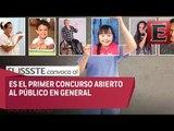 María Sánchez presenta el concurso de fotografía del ISSSTE