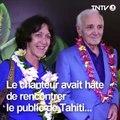 Charles Aznavour s'est éteint dans la nuit de dimanche à lundi. Il y a un an presque jour pour jour, il donnait son premier concert en Polynésie... #musique #h