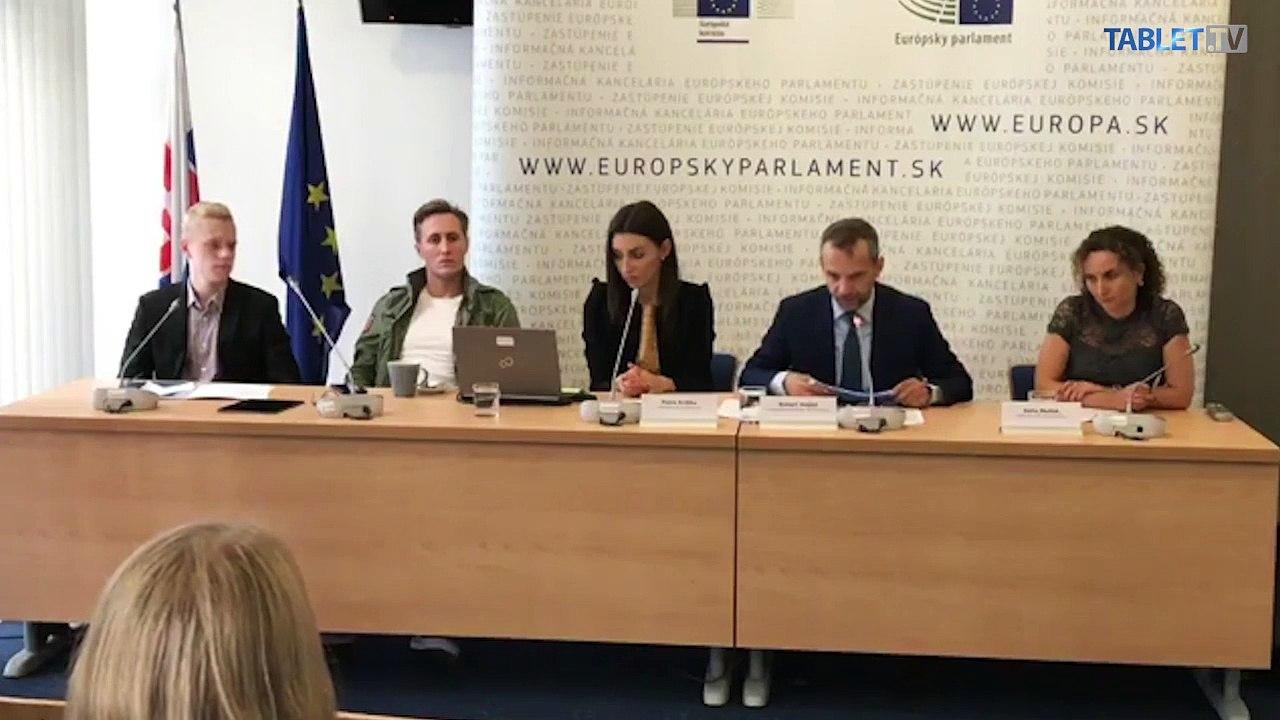 ZÁZNAM: TK Kancelárie Európskeho parlamentu v SR