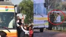 Rajasthan Election 2018:Rahul Gandhi की SPG फिर फेल,  एंट्री साइड से घुसा शख्स | वनइंडिया हिंदी