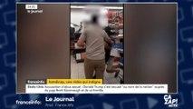 Vidéo choc : un homme malvoyant violemment sorti d'un magasin avec son chien