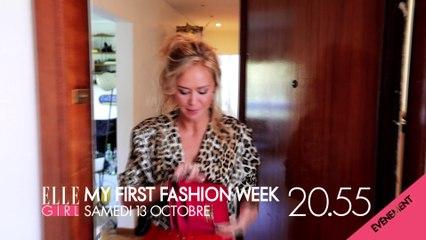 MA FIRST FASHION WEEK AVEC ENORA MALAGRÉ - SAMEDI 13 OCTOBRE SUR ELLE GIRL TV