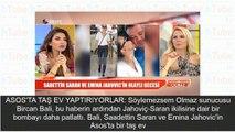 Beyaz TVde olay Emina Jahoviç Saadettin Saran iddiası! Yatak odasından