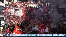 Le 18:18 : plusieurs milliers de manifestants en Provence contre la politique du gouvernement