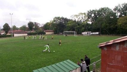but paupiette contre Agen rc le 07 10 2018