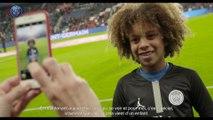 Le Paris Saint-Germain et Neymar Jr réalisent le rêve de Rudy