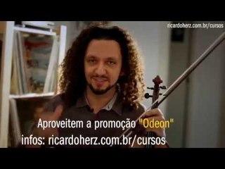 Teaser promoção Odeon - método de violino popular