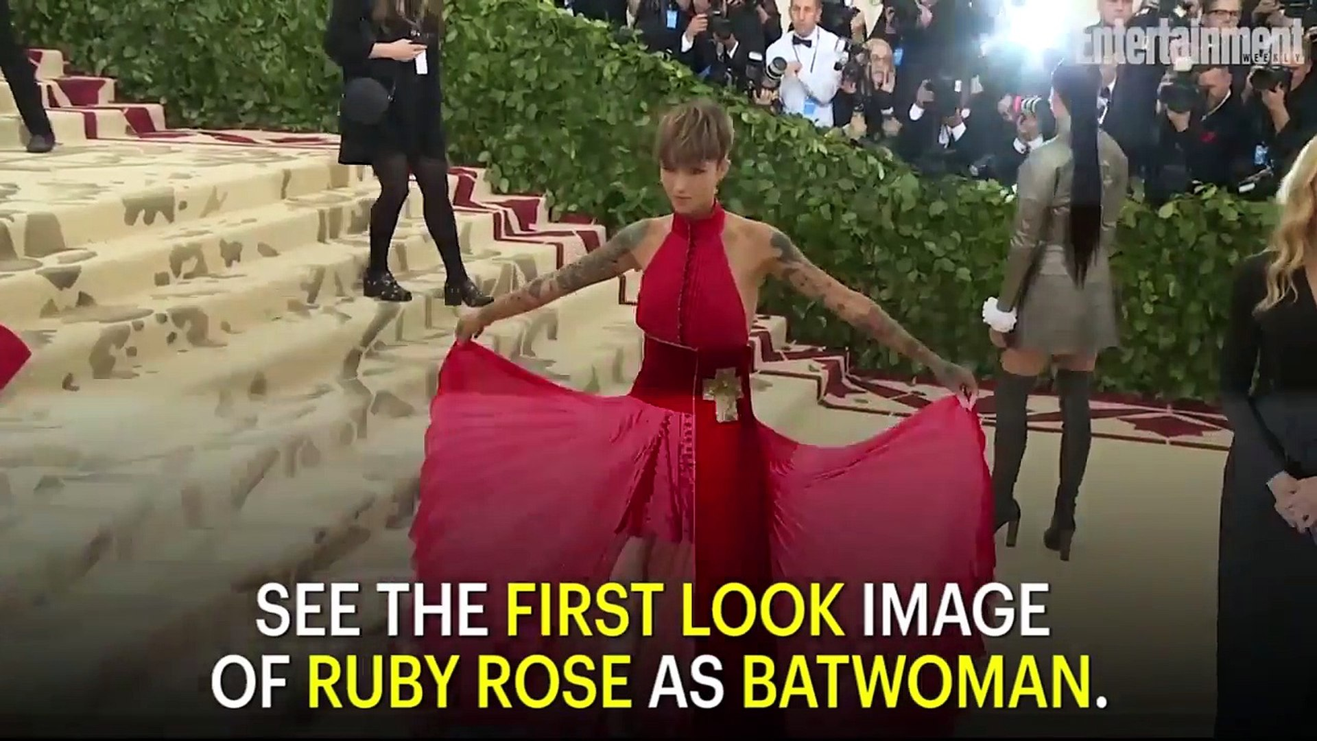 Ruby Rose Suits Up As The CW's Batwoman In First Look Image   News Flash   Entertainment Weekly