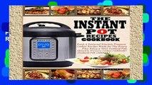 Popular THE INSTANT POT RECIPES COOKBOOK: Fresh   Foolproof Electric Pressure Cooker Recipes Made