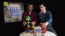 Property Brothers Jonathan And Drew Scott Face Off To See Who Can Build The Better Bookends