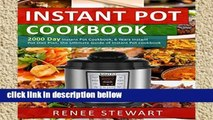 Library  Instant Pot Cookbook: 2000 Day Instant Pot Cookbook, 6 Years Instant Pot Diet Plan, the