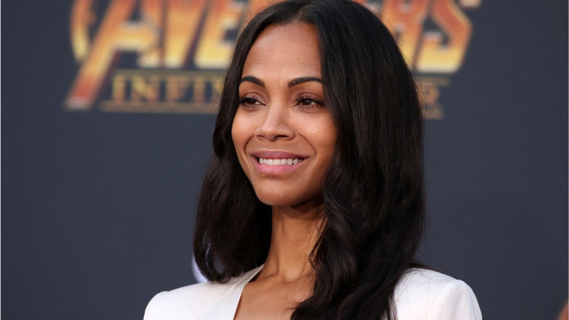 Zoe Saldana's Social Media Stirs 'Avengers: Infinity War' Rumors