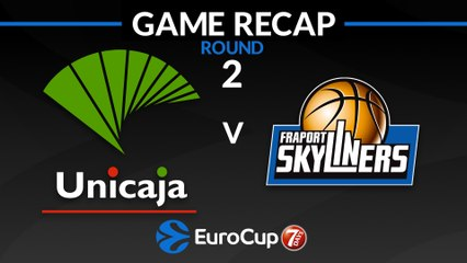 7Days EuroCup Highlights Regular Season, Round 2: Unicaja 91-64 Skyliners