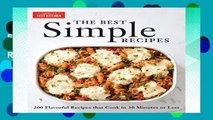 F.R.E.E [D.O.W.N.L.O.A.D] The Best Simple Recipes: More Than 200 Flavorful, Foolproof Recipes That