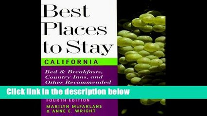 p d f best places to stay in california p d f