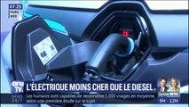 À l'usage, les voitures électriques sont moins chères que le diesel