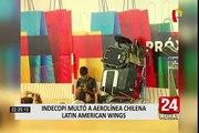 Indecopi ordena a aerolínea devolver costo de boletos a 5 mil pasajeros