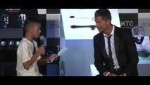 Cristiano Ronaldo: O lado solidário do melhor jogador de futebol do mundo.