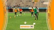 Première séance d'entraînement des Lions du Sénégal