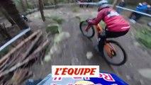Adrénaline - VTT : Loic Bruni face à 550 riders, caméra embarquée au coeur du Red Bull Foxhunt 2018