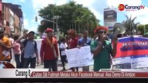 We are not Monkeys. Melanesians protest Indonesian rascicm towards Melanesian West Papuans. Previuosly Indonesian minister Luhut had told West Papuans to leave