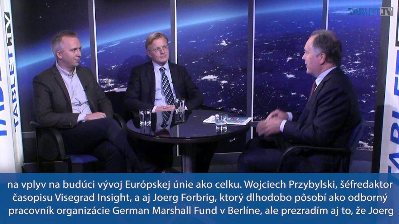 Przybylski a Forbrig: Slovensko je ako člen eurozóny vo vzťahu k Európskej únii z krajín V4 najstabilnejšie