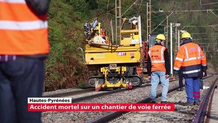Péré, accident mortel sur le chantier de la voie ferrée