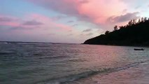 The perfect end to another day in paradise No two Seychelles sunsets are ever the same - sometimes theyre golden, sometimes bright orange and sometimes the s