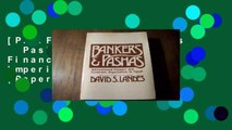 [P.D.F] Landes: Bankers   Pashas: International Finance   Economic Imperialism in Egypt (Paper)