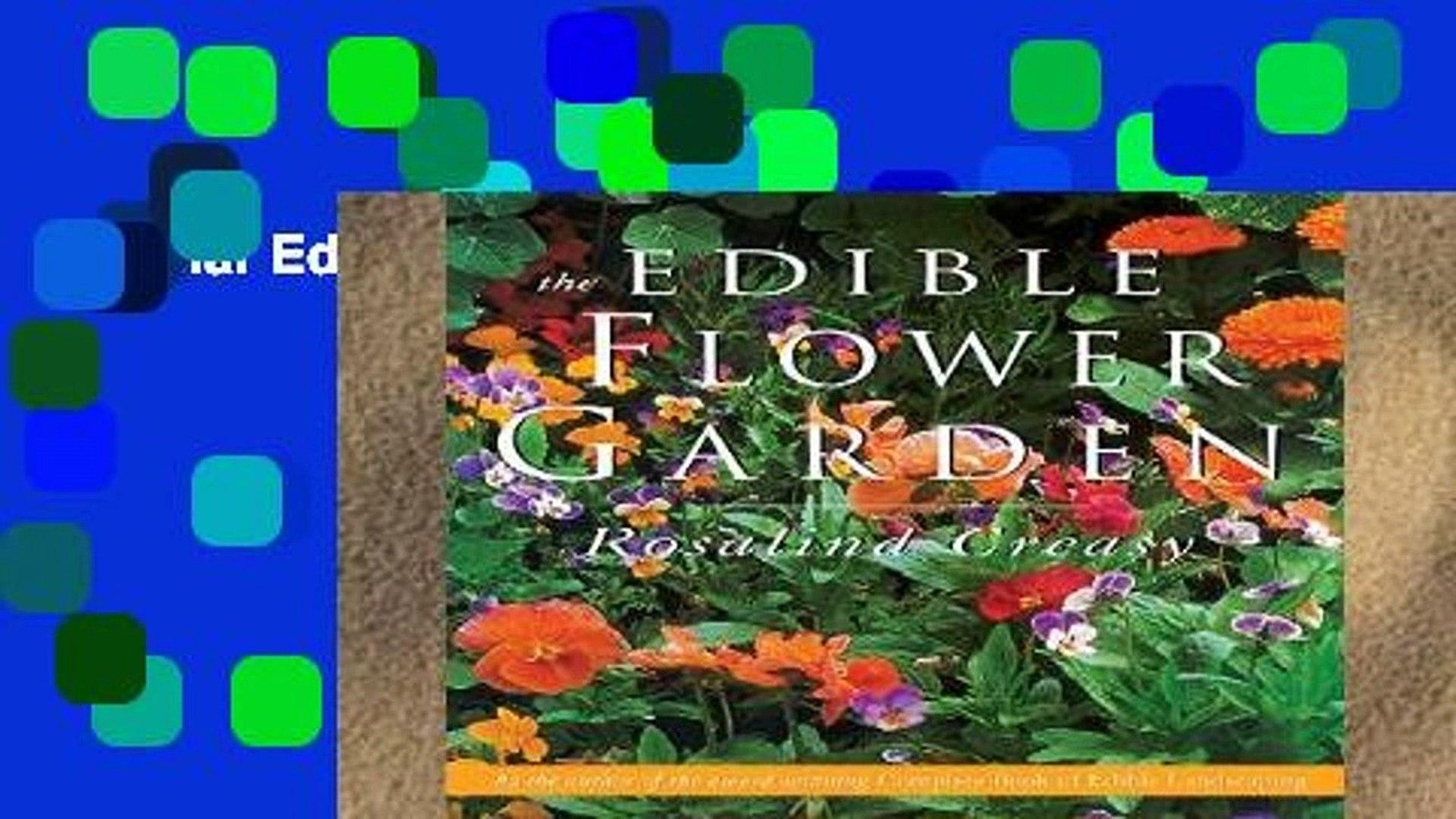 Popular Edible Flower Garden (Edible Garden)