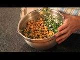 Ensalada fría de garbanzos - Garbanzo Salad
